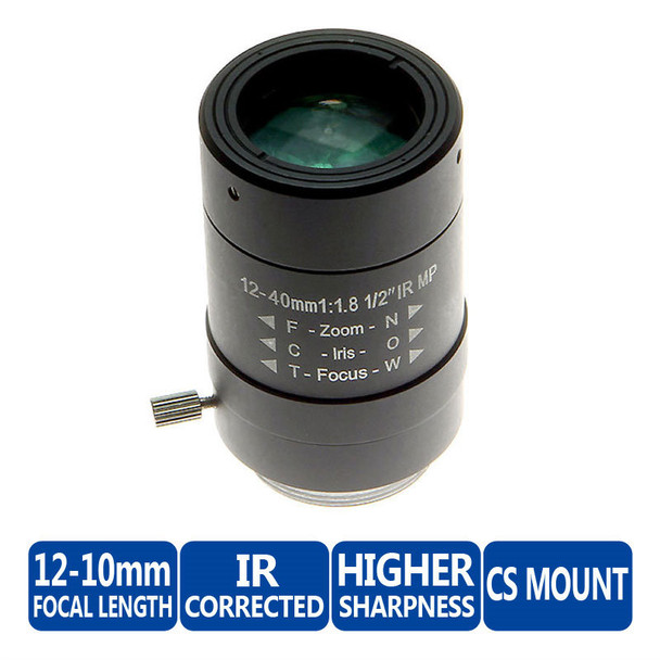 Arecont Vision MPL12-40 12-40mm Varifocal Lens