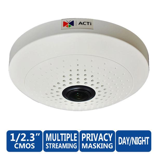 ACTi B55 10MP 360° Fisheye Dome Network Camera