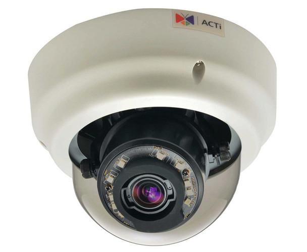 ACTi B64 1.3MP Indoor IR Dome IP Security Camera - Zoom lens