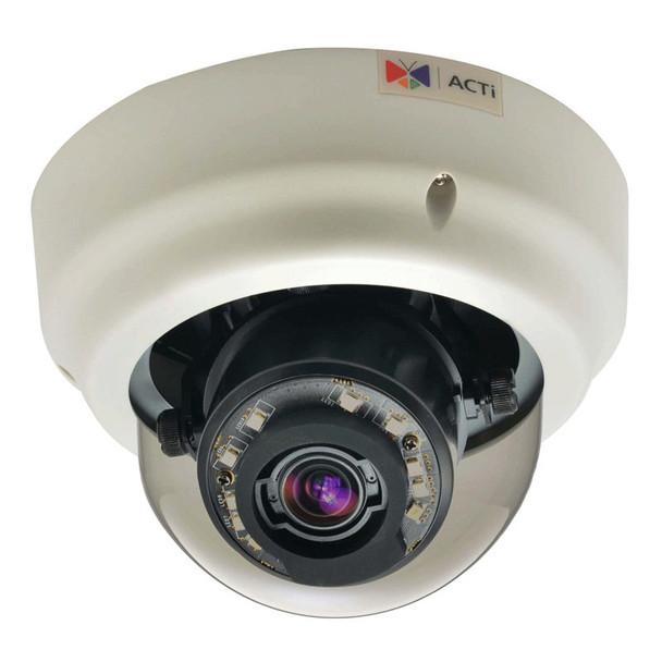 ACTi B64 1.3MP Indoor IR Dome IP Camera - Zoom lens