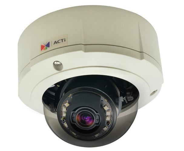 ACTi B81 Outdoor 5MP IR Dome IP Security Camera - Zoom lens