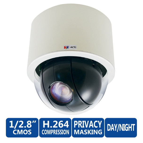 ACTi I92 1MP Indoor 30x PTZ Dome Network Security Camera