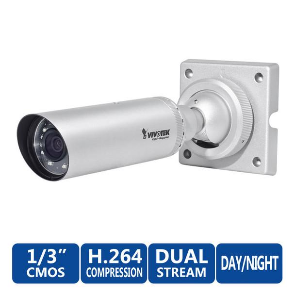 Vivotek IP8337H-C 1MP WDR Outdoor IR Bullet Network Camera