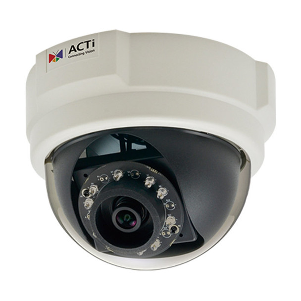 ACTi E57 1.3MP Indoor IR Dome Network Camera, WDR, 3.6mm lens