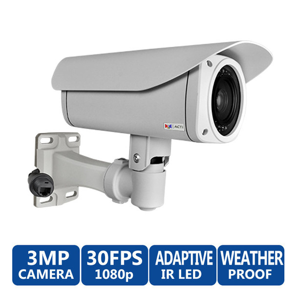 ACTi B47 3MP Outdoor IR Bullet IP Security Camera