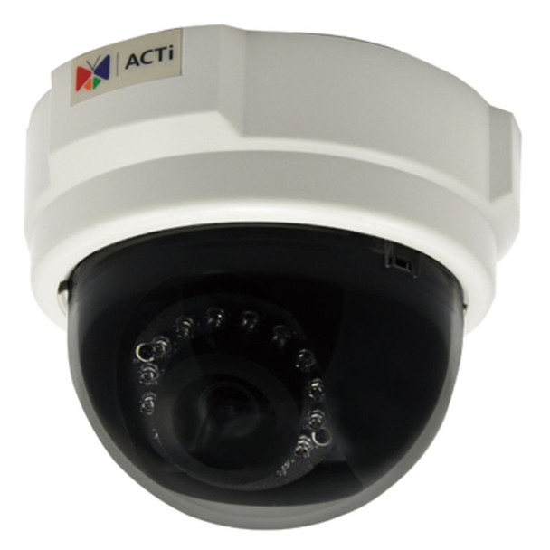 ACTi E59 1MP Indoor IR Dome IP Security Camera, 3.6mm lens