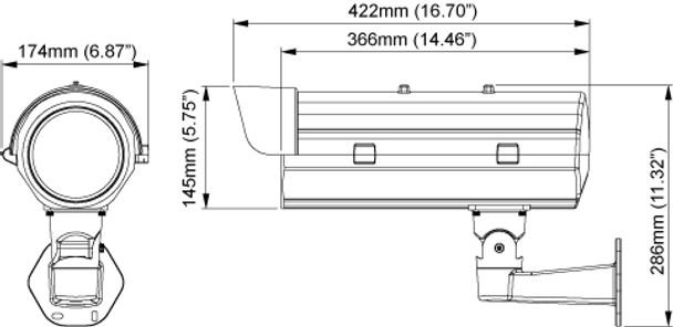 Messoa LPR610 Dimension