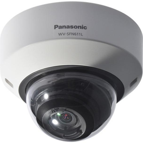Panasonic WV-SFV611L 1.3MP Indoor/Outdoor Dome IP Security Camera - WDR 133dB