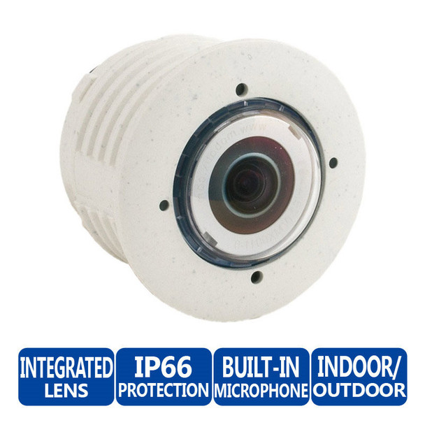 Mobotix MX-SM-N25-PW-F1.8 5MP Sensor Module For S15 and M15, 4mm Fixed Lens, Weatherproof, Microphone