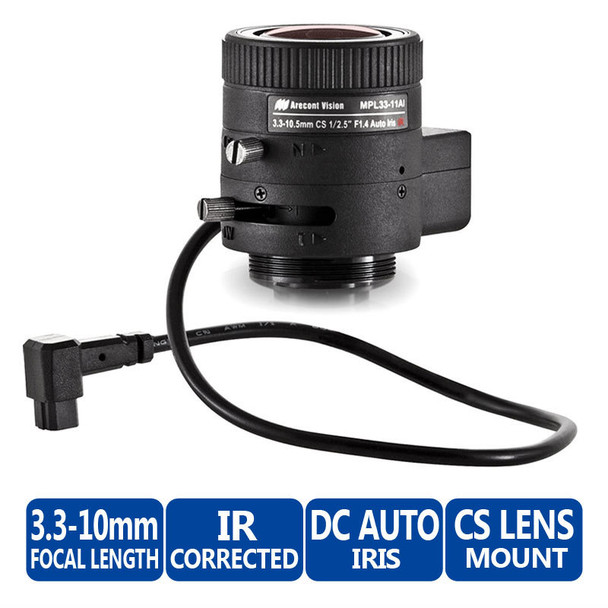 Arecont Vision MPL33-11AI CS-Mount