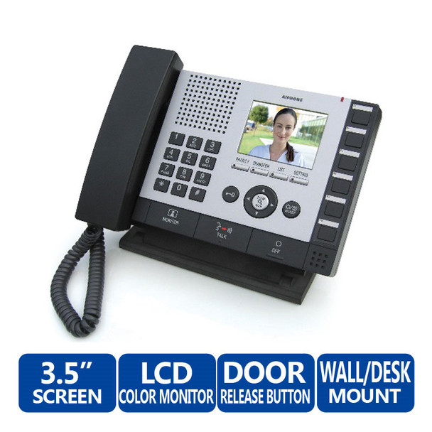Aiphone IS-MV Video Master Station - IS Series IP Video Security Communication System