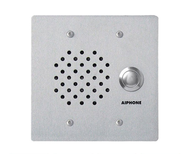 Aiphone LE-SS/A 2-Gang Door Station - LAF-C, Vandal and Weather Resistant