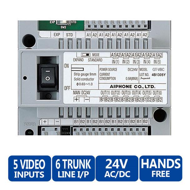 Aiphone GT-VBC Video Bus Control Unit - GT Multi-Tenant Color Video Entry Security System