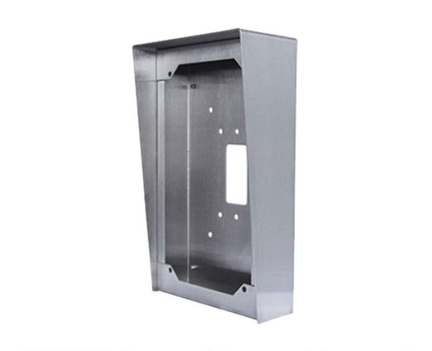 Aiphone SBX-AXDVF Stainless Steel Surface Mount Box - AX-DVF Video Door Station