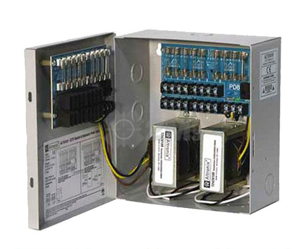 Altronix ALTV2416 16 Fused Outputs Analog Power Supply - 24VAC @ 8A