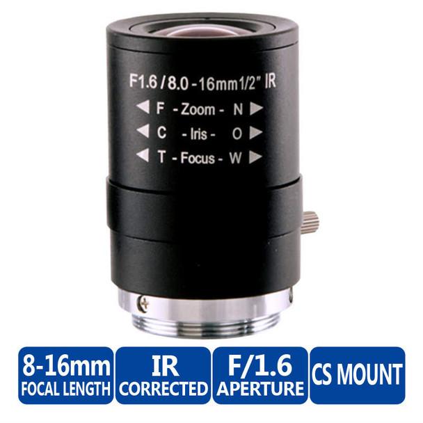 Arecont Vision MPL8-16 Varifocal Megapixel