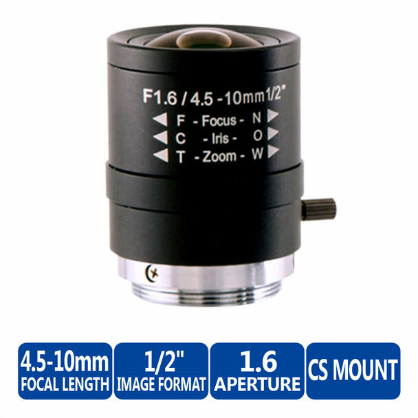 "Arecont Vision MPL4-10 1/2"" CS Mount"