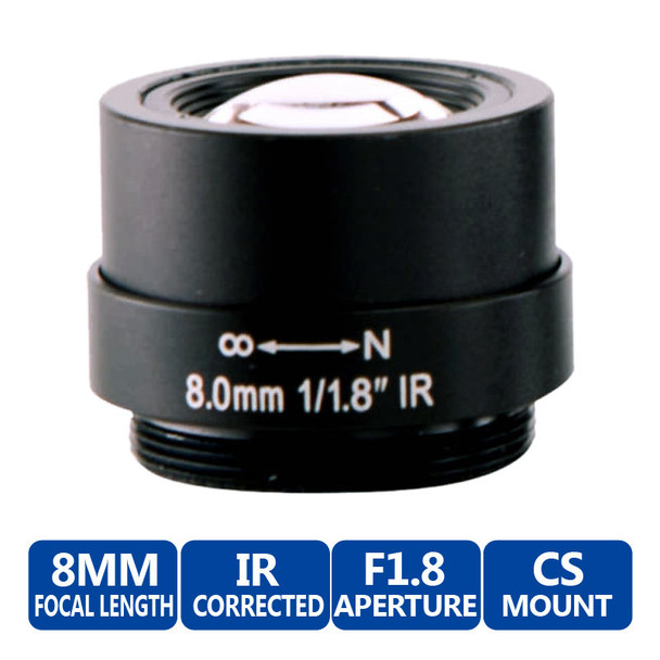 Arecont Vision MPL8.0 Fixed Focal
