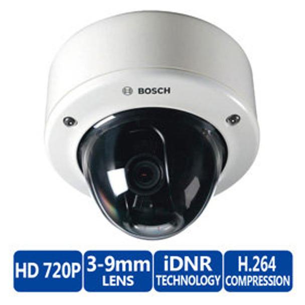 Bosch NIN-733-V03PS Flexidome 720p HD Day/Night IP Security Camera - SMB