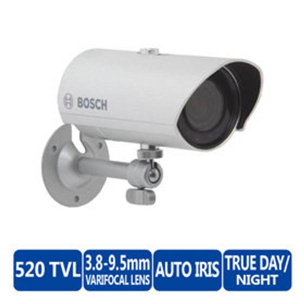 Bosch VTI-216V04-2 WZ16 Integrated IR Bullet 520TVL Outdoor CCTV Security Camera - 3.8~9.5mm Varifocal Lens, IR 66ft, True Day/Night, NTSC