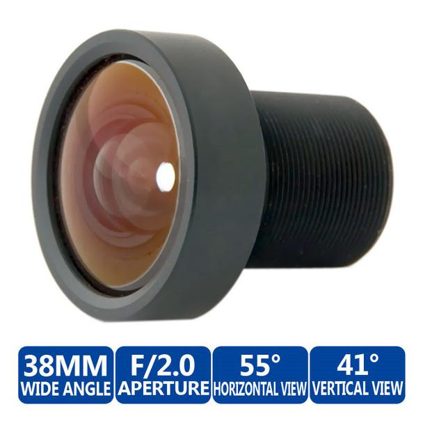 Mobotix MX-OPT-F2.0-L32-L38 Wide Angle Lens