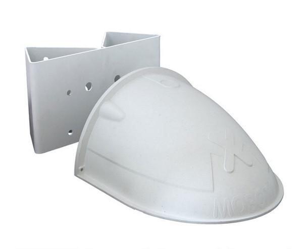 Mobotix MX-D15-OPT-WHMH-SET Wall/Pole Mount Kit - for D1x Camera, 1x Pole/Corner Mount, 1x Wall Mount