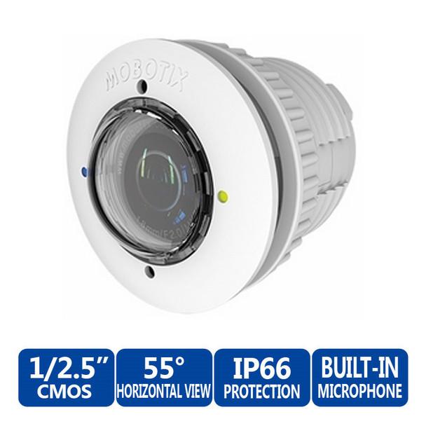 MOBOTIX MX-SM-D38-PW L38 Daylight 5MP Sensor Module - FlexMount S15D & AllroundDual M15D Security Camera (White)