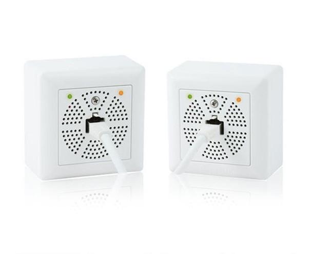 Mobotix MX-2WIREPLUS-SET-PW Mx2wire+ Media Converter Set