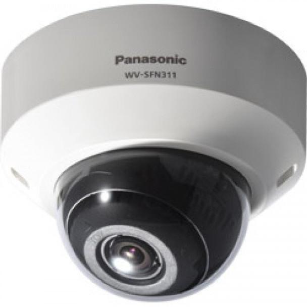 Panasonic WV-SFN311 Super Dynamic HD Day/Night Dome IP Security Camera - 2.8 to 10mm Varifocal Lens