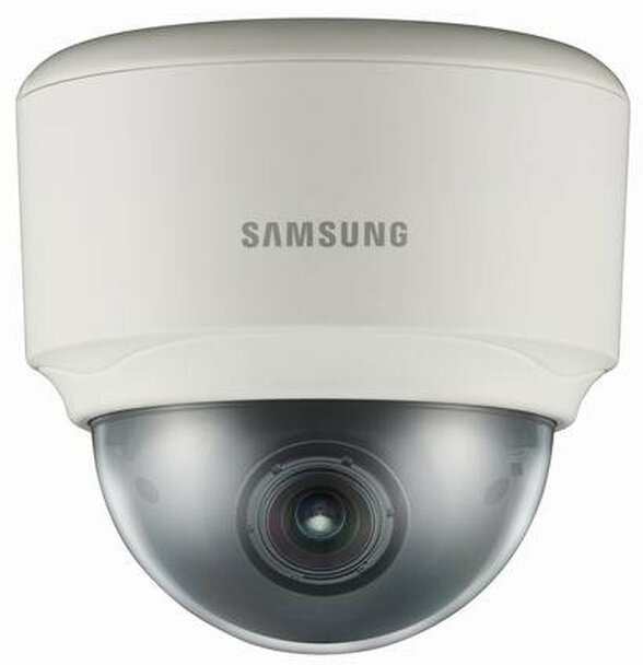 Samsung SND-7080 3MP Indoor Hybrid Dome IP Security Camera - Surface-Mount