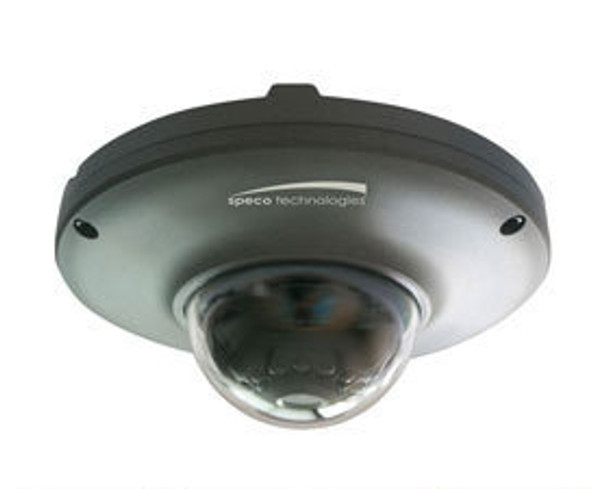 Speco O2MD1 2MP IR Outdoor Miniature Dome IP Security Camera - 3.7mm Fixed Lens (Dark Gray)