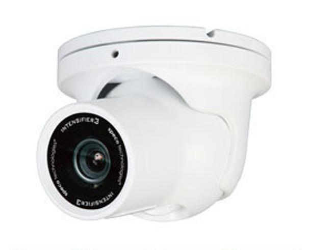 Speco HTINTD8W Indoor/Outdoor Dome/Turret Security Camera - 2.8-12mm Auto-Iris Varifocal Lens (White)