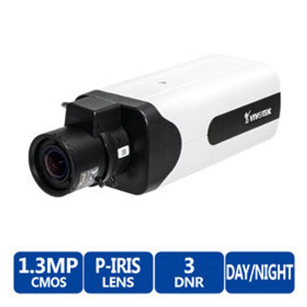 Vivotek IP8155HP 1.3MP Indoor Box IP Security Camera - WDR Pro II
