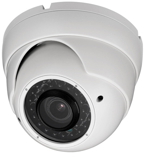 """DH Vision DH-DV-507W 700TVL Dome CCTV Security Camera - 2.8-12mm lens, 100 ft range IR, Water-resistant, 1/3"""""""
