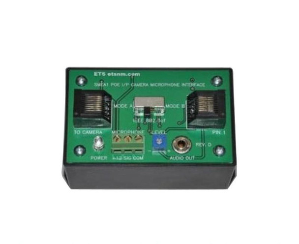 ETS SMEA-1 Microphone Interface Box for IP Cameras