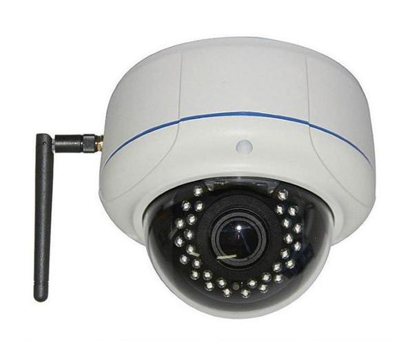 "Videocomm IPC-2MPSR50W 2MP Outdoor IR Wireless Dome IP Security Camera - 2.8~12mm Varifocal Lens, 1/2.8"" CMOS, Weatherproof"