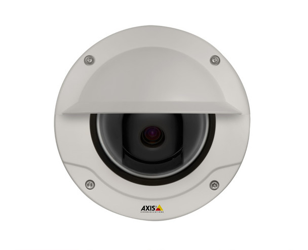 Axis Q3505-VE 22MM 1080P HD Outdoor Dome IP Security Camera - 9-22mm lens, Forensic Capture, Electronic Image Stabilization