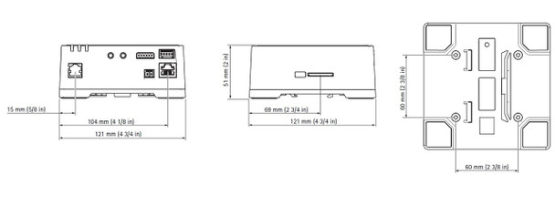 Axis F41 1ch 1080p HDTV Main Unit