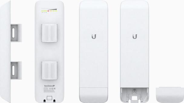 Ubiquiti NSM5-US NanoStation M 5 Ghz Outdoor Wireless Bridge - 150 Mbps Throughput, 9+ miles Range