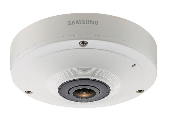 Samsung SNF-8010 5MP 360-degree Fisheye IP Security Camera