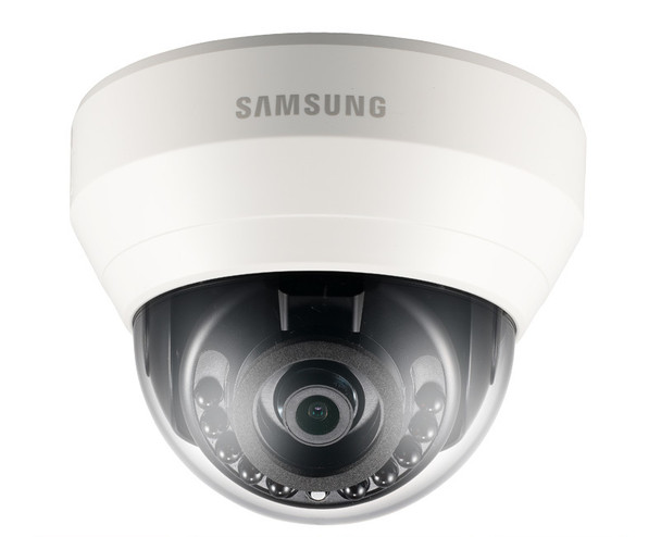 Samsung Hanwha SND-L6013R 2MP IR Indoor Dome IP Security Camera with 3.6mm Fixed Lens