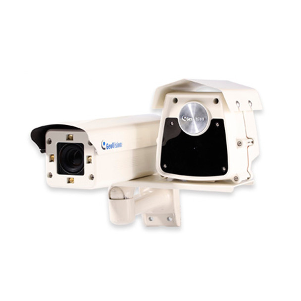 Geovision GV-IP LPR 20R 1.3MP License Place Capture IP Security Camera - 75mph Max speed, 72 ft. IR Distance 84-HLPR20R-001U