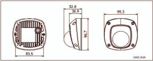 CMIP3132-28S Dimension