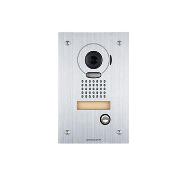 Aiphone JP-DVF Color Video Door Station, Vandal Resistant Flush Mount Stainless Steel