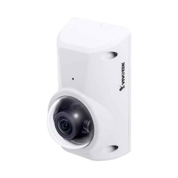 Vivotek CC8370-HV 3MP Indoor/Outdoor Anti-Ligature Fisheye IP Security Camera - 1.6mm Fixed Lens, WDR Pro & SNV