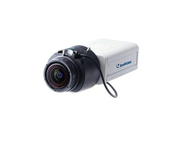 Geovision GV-BX12201 4K Ultra HD Indoor Box IP Security Camera - 4.1~9mm Varifocal Lens, 30fps at 2160P