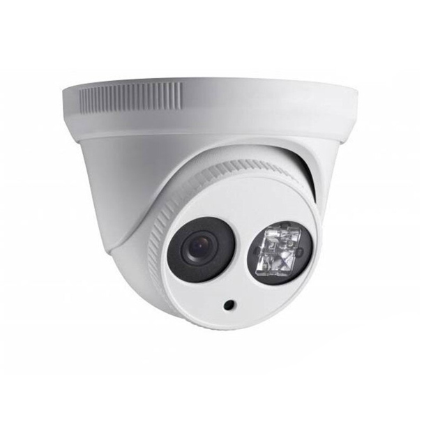 2 Megapixel InfraRed for Night Vision Outdoor Turret HD-TVI Security Camera, Weatherproof, 2.8mm Fixed Lens, CMHT2722-28