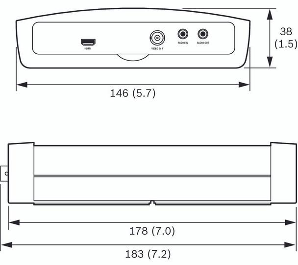 Bosch VJD-3000 VIDEOJET Decoder 3000 Diagram