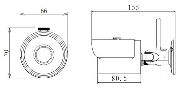 Dahua IPC-HFW1200S-W