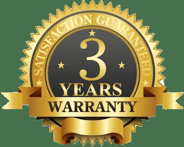 3 Years Mancufacturer Warranty